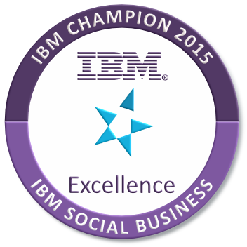 IBM Champion 2015 for Social Business
